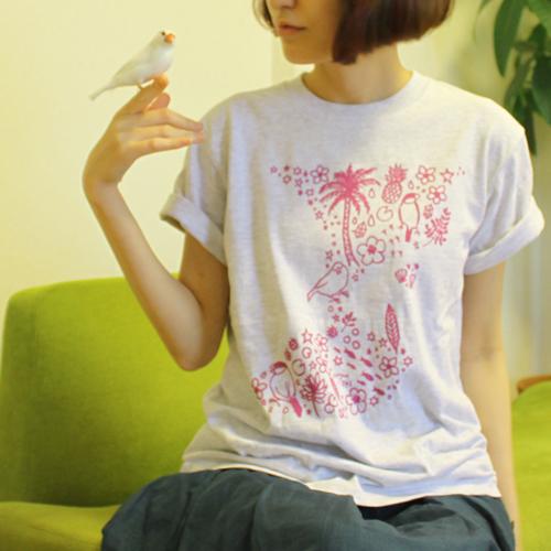文鳥Tシャツ