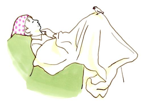 あきぴょん寝た